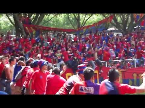 Turba Roja En Opico - Vamos vamos los tigrillos vamo a ganar - Turba Roja - Deportivo FAS