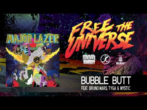 Major Lazer - Bubble Butt (feat. Bruno Mars, Tyga & Mystic) (Official Audio)