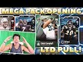 MEGA PACK OPENING! INSANE LTD PULL! Madden 18 Ultimate Team