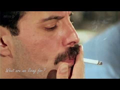 Queen - The Show Must Go On (with lyrics) – In memory of Freddie Mercury