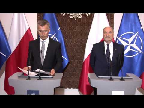 Sekretarz Generalny NATO z wizytą w MON