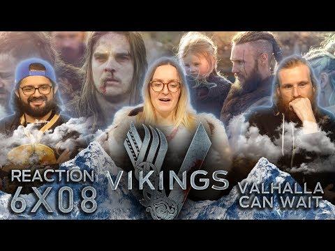 Vikings - 6x8 Valhalla Can Wait - Reaction