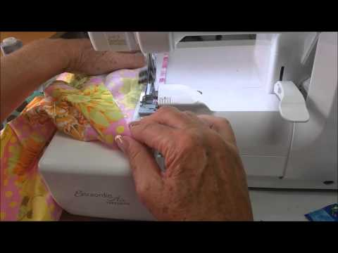 No Casing Elastic Waistbands on the serger