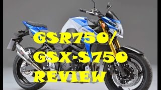 9. 2016 Suzuki GSR 750/ GSX-S750 TEST RIDE REVIEW