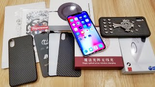 iPhone X Accessories in China Buying & Testing 📱 Supreme Skin 😱😲