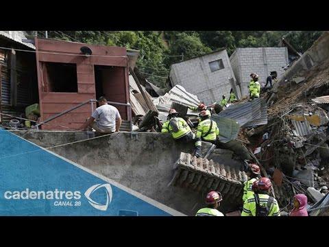 México envía misión de rescate a Guatemala tras deslave