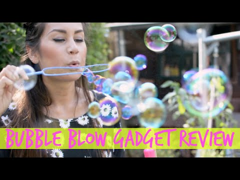 Bubbleblow Gadgets Review!
