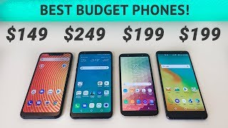 BLU Vivo XL4 vs LG Stylo 4 vs Samsung Galaxy A6 vs ZTE Blade Max View - Best Budget Smartphones!