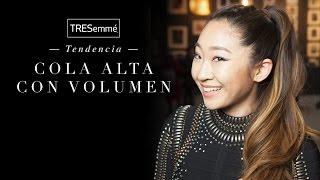 COLA ALTA CON VOLUMEN #TRESemme
