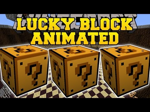 Minecraft: ANIMATED LUCKY BLOCK MOD (MOST EPIC BLOCKS YET?!?) Mod Showcase