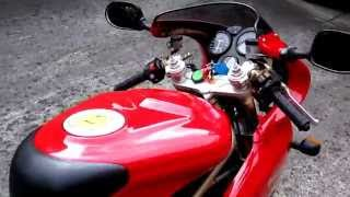 2. Ducati 900SS with Ducati Performance Remus Exhaust, Custom Single Race Seat & Open Clutch Cover