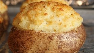 Twice Baked Potatoes -- How To Make Fancy Stuffed Potatoes