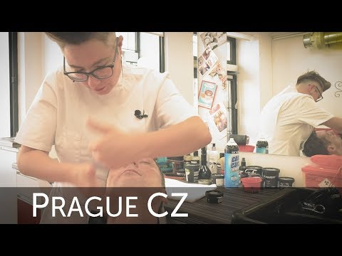 💈 Barberette Prague - No Blade Shaving And Face Massage Experience