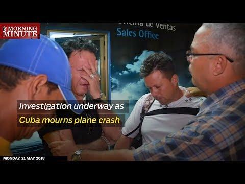 Investigation underway as Cuba mourns plane crash (видео)