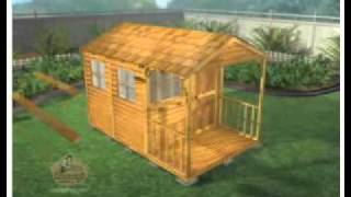 Clubhouse 8x12 Shed