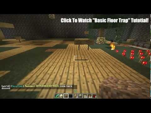 Minecraft: Top Ten Best Traps in Minecraft!