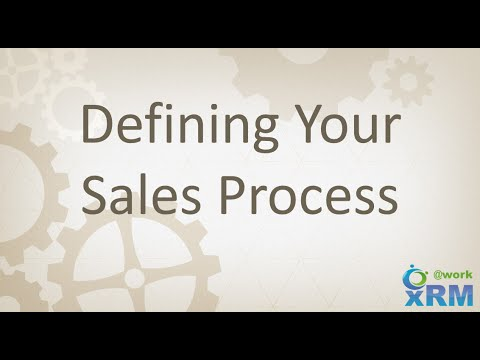 DYNAMICS 365: Defining and creating your Sales Process