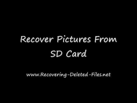 Watch 'Recovering Pictures From SD Card in Minutes'