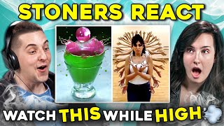 Stoners React To Watch While You're High Compilation