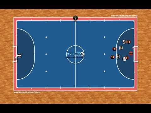24) Jogo da organização de ataque e defesa