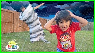 How Do Tornadoes Form??? |  Educational Video for kids with Ryan ToysReview