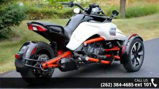 6. 2015 Can-Am Spyder F3 S 6-Speed Semi-Automatic (SE6)  - A...