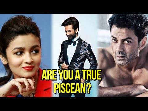 Bollywood Celebrities Who Are Pisces | 2018 Traits