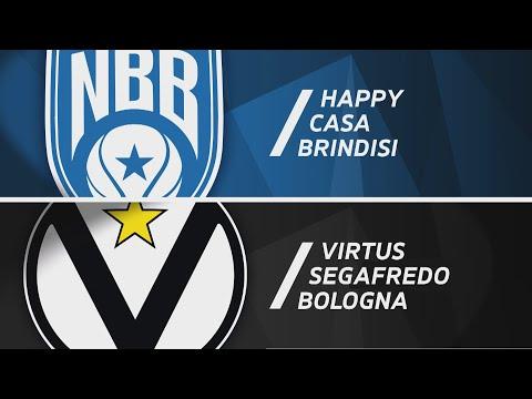 Serie A 2020-21: Brindisi-Virtus Bologna, gli highlights