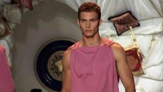 Versace Men's Spring/Summer 2015 Full Show  Milan, June 21, 2014  High Quality (HQ)