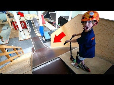 6 YEAR OLD VS BIGGEST FOAM PIT IN GERMANY!