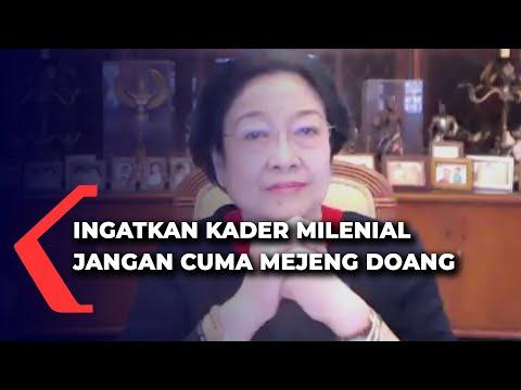 Sindir Kader PDIP Milenial, Megawati: Jangan Mejeng-Mejeng Doang