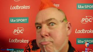 "Peter Wright: ""It was amazing to be introduced as World Champion – I'll have to get used to it!"""