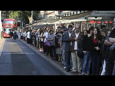 Παραλύει το Λονδίνο από την απεργία στο μετρό