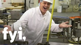 Food Factory USA: White Castle Slider Patty Production | FYI