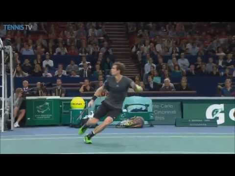 Paris - Andy Murray receives Hot Shot honours on Friday in Paris, rifling a forehand past Novak Djokovic. Watch live matches at http://www.tennistv.com/