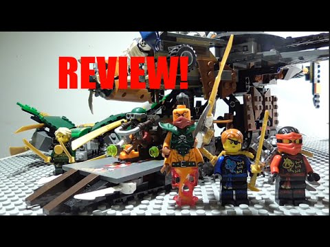 LEGO Ninjago 2016 *Misfortune's Keep* Review!! 70605!!