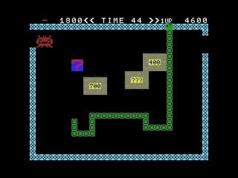Super Snake (1983, MSX, HAL Laboratory)