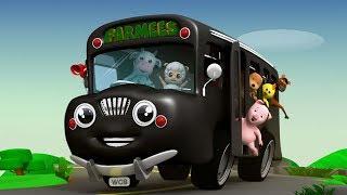 Räder auf dem Bus | Kinder Reime | Baby Lieder | Nursery Rhymes | 3D Kids Songs | Wheels On the Bus