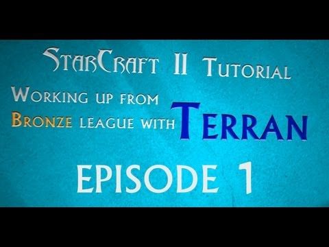 tutorial - In this multiple part tutorial, I purchase a brand new SC2 Heart of the Swarm account and play through from Bronze league within the match making system. I e...