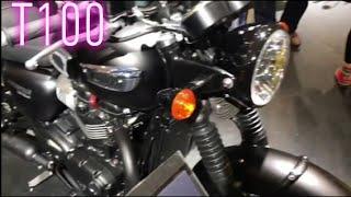 9. 2019 Triumph  Bonneville T100 Black