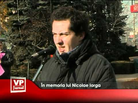 În memoria lui Nicolae Iorga