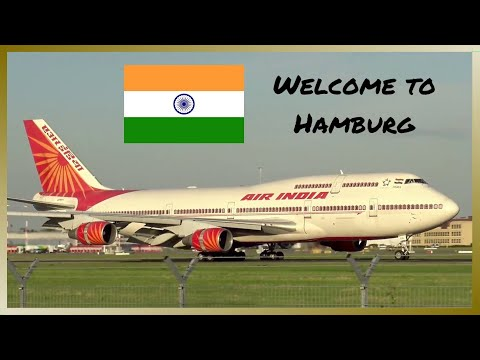 Video BEAUTIFUL Air India Boeing 747 landing at Hamburg Airport | Queen of The Skies download in MP3, 3GP, MP4, WEBM, AVI, FLV January 2017