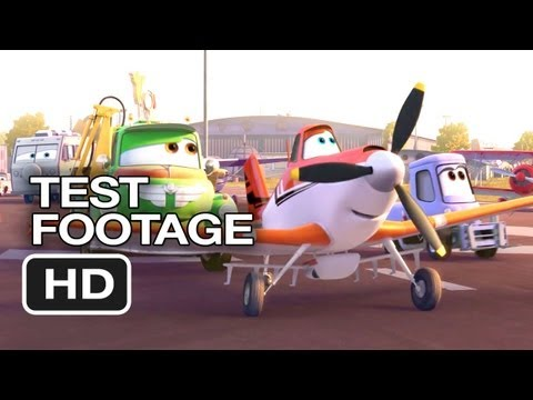 Planes Official Test Footage (2013) – Dane Cook Disney Animated Movie HD