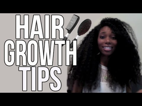 Tips For Growing Long Healthy Natural Hair