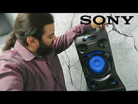 Sony MHC-V02 (apresentando o aparelho)