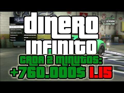 GTA 5 ONLINE 1.15: DINERO INFINITO. DINERO INFINITO CADA 2 MINS +760.000$ - TRUCO GTA V 1.15 (видео)