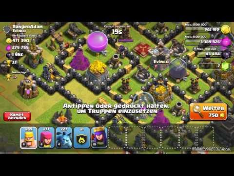 Coc #3 geiler clan (видео)