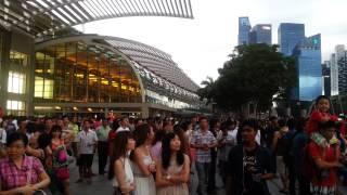 Happy birthday singapore 49 years .Marina bay.SKS
