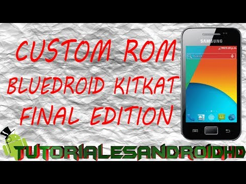 Tutorial Bluedroid KITKAT Edition ROM 100% ESTABLE Estilo Android 4.4 para Galaxy Ace s5830i/m/c/39i