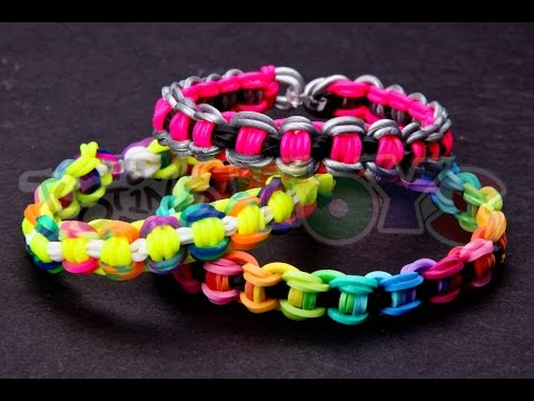 How to Make a Bicycle Chain Rainbow Loom Bracelet